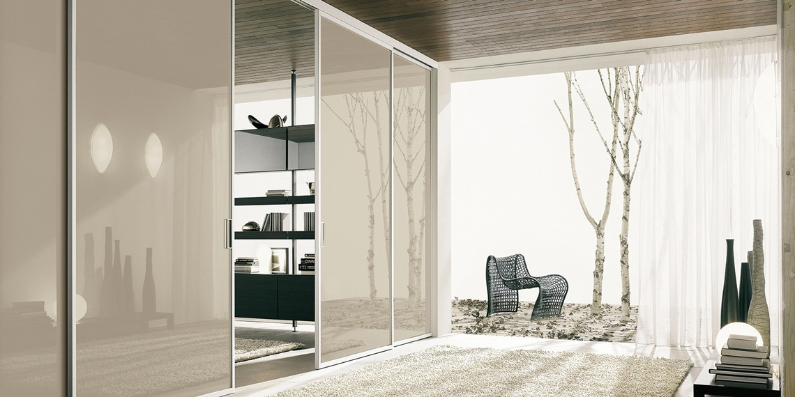 Sliding doors for interiors